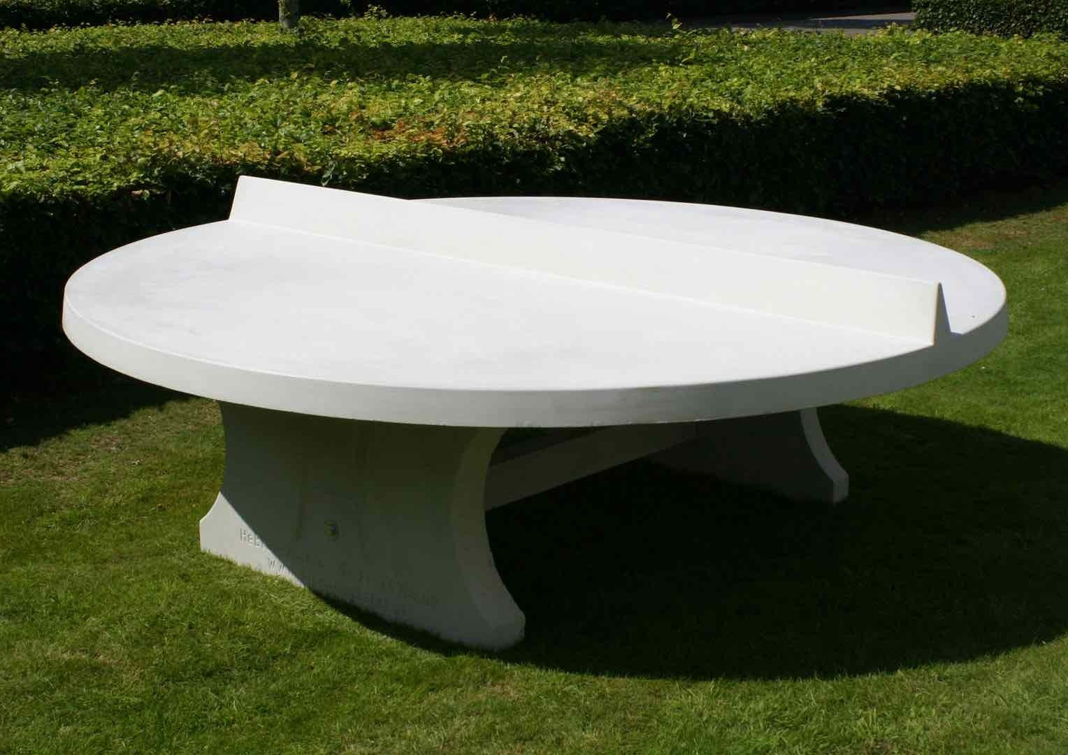- Concrete Ping-pong Table Round Outdoor - Kickerkult Onlineshop