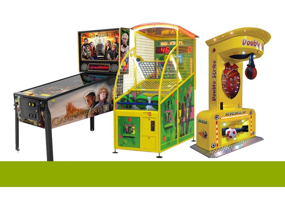 Kinder Spielautomaten