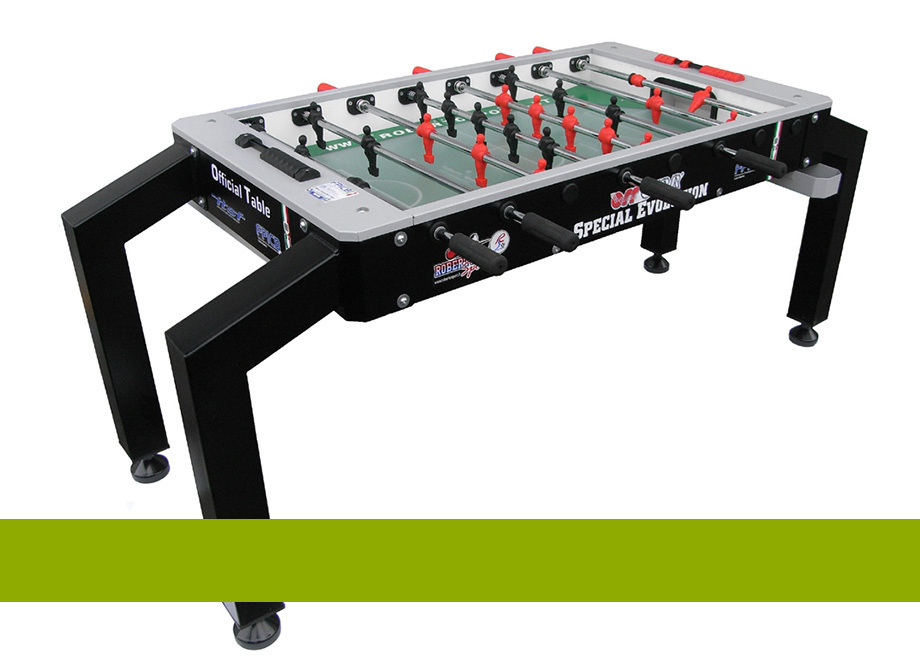 Foosball tables for disabled players