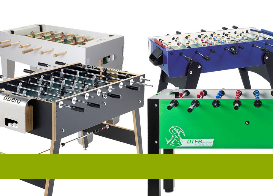 All foosball tables