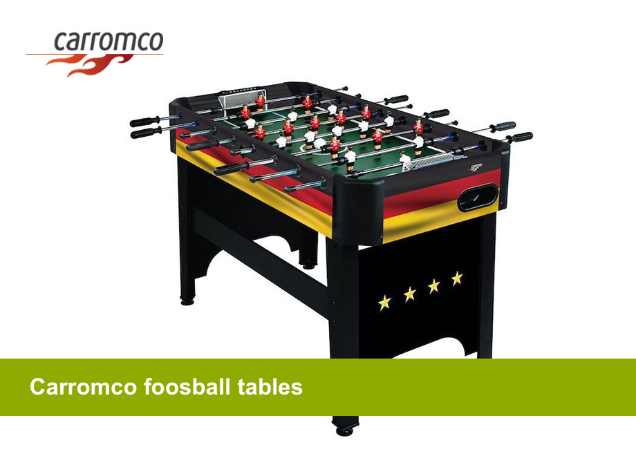 Carromco foosball tables