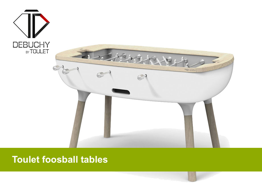 Toulet foosball tables