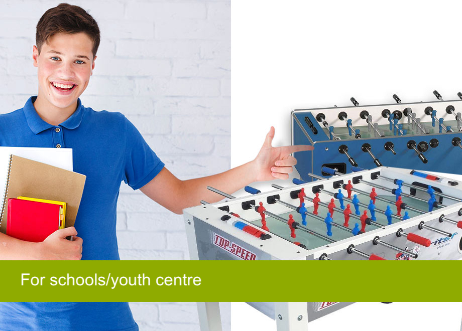Foosball for schools/youth centre