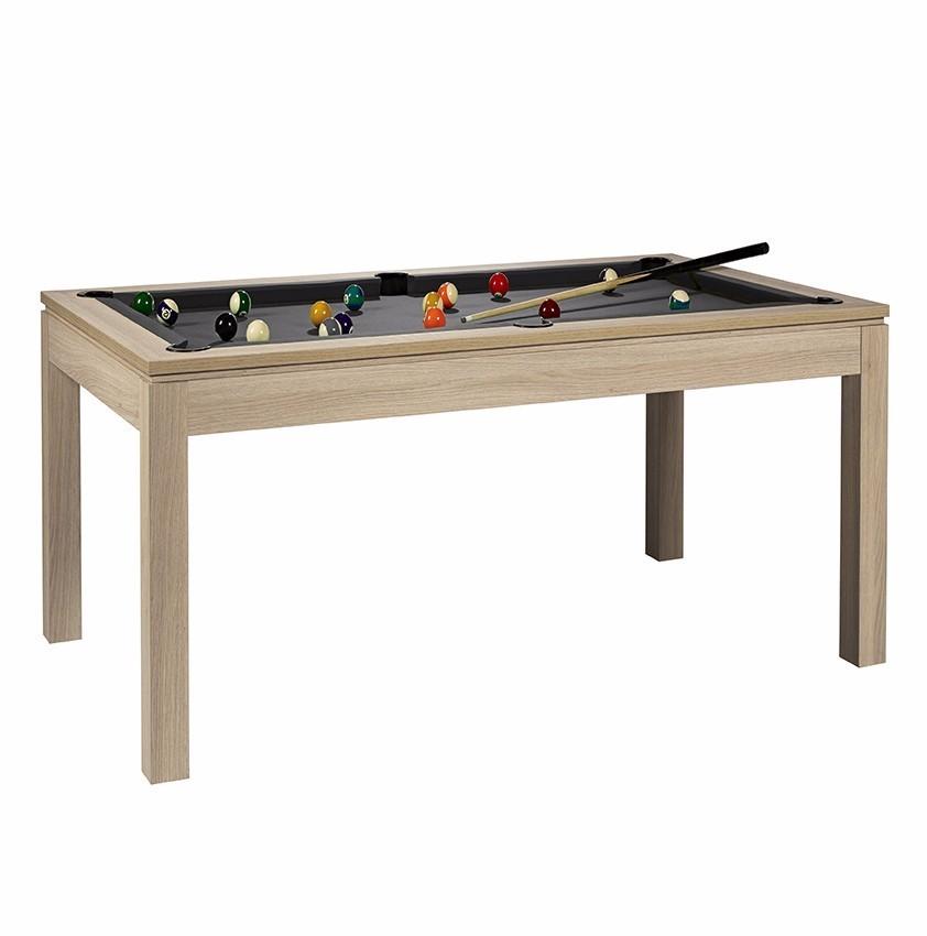 1a4fb270aef8c2 René Pierre Pool Table Charme Slate Billard Oak - Kickerkult